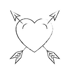 Heart and love cartoon vector