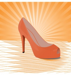 shoes illustration vector image