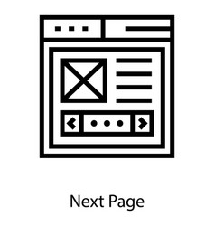 Web wireframe vector