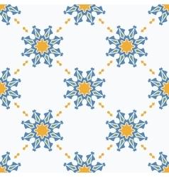 Seamless ornamental symbols pattern vector image vector image