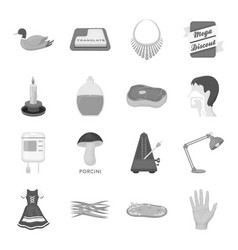 organs education nature and other web icon in vector image
