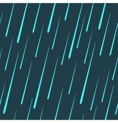 raindrops seamless pattern vector image vector image