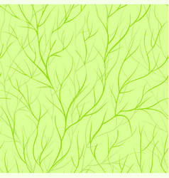 beautiful seamless background with tree branches vector image