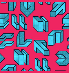 creative seamless pattern vector image