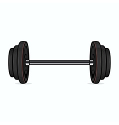 Dumbbell vector image