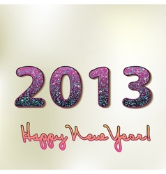 Happy new year 2013 colorful design EPS8 vector