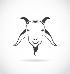 Image of an goat head vector