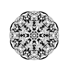 Mandala Floral ethnic abstract decorative vector image