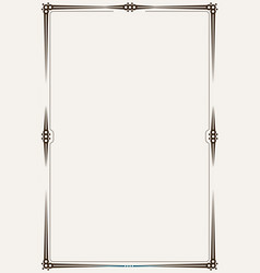 Minimalistic border or frame vector