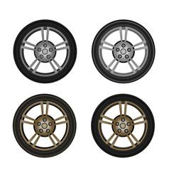 photo-realistic wheel vector image