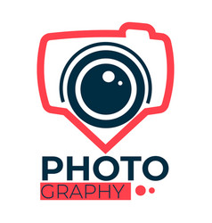 photography studio services for taking photos vector image