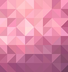 Pink triangle background vector