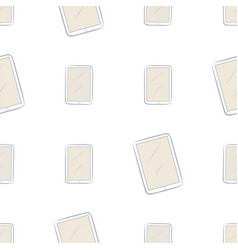Seamless of handphone or mobilephone messy vector