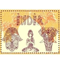 SetIndia vector image