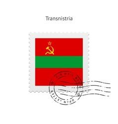 Transnistria Flag Postage Stamp vector