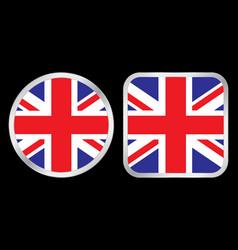 United kingdom flag icon vector