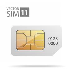 SimCard05 vector image