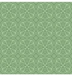 seamless ornamental flower pattern vector image vector image