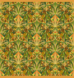 Abstract colorful seamless floral mosaic pattern vector