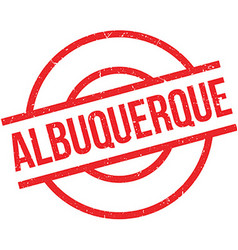Albuquerque rubber stamp vector image