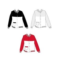 Baseball jacket design2 vector