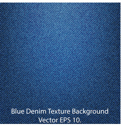blue denim texture vector image
