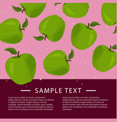 Design template for food card recipe article vector