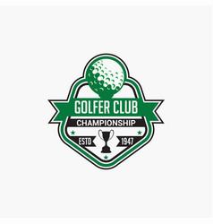 Golf club badge logo-7 vector