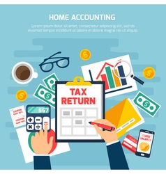 Home Accounting Composition vector
