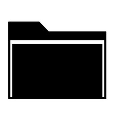 manila folder icon vector image