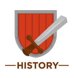 movie genre history cinema icon of ancient vector image