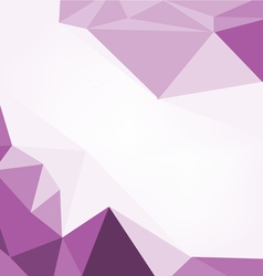 Polygonal purple Abstract geometrical vector image
