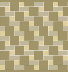 seamless pattern brick tile vector image