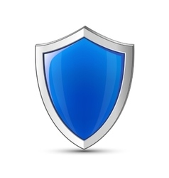 Shield symbol vector image