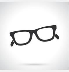 Silhouette retro sunglasses horn-rimmed glasses vector