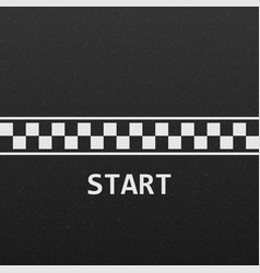 start line vector image
