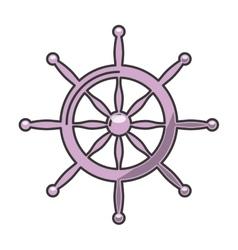 timon ship marine icon vector image