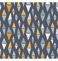 tribal inspired seamless geometric pattern with vector image vector image