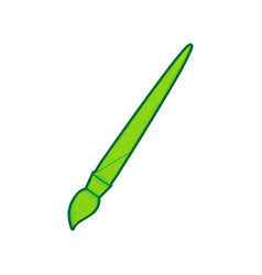 brush sign lemon scribble vector image