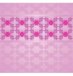 Vintage flourish background vector image vector image