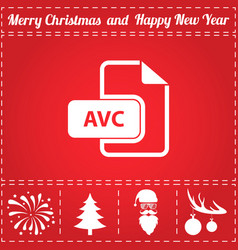 Avc icon vector