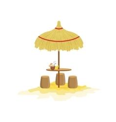 Beach Bar Mexican Culture Symbol vector image