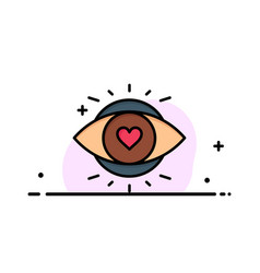 Eye eyes education light business logo template vector
