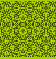 green circle texture vector image
