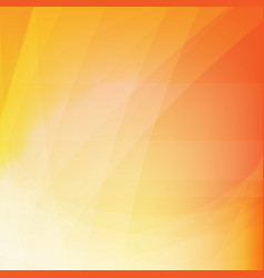 orange dynamic background vector image