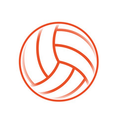 Voleyball sport game vector
