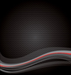 abstract black texture vector image vector image