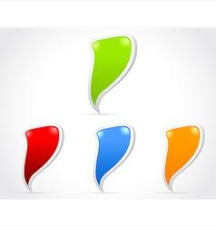 Design of messenger window icon vector image