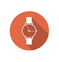 Icon wrist watch vector