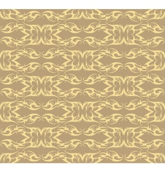 Abstract geometric floral classic pattern vector image vector image